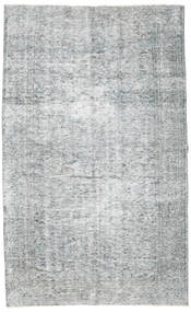 Colored Vintage Rug 164X270 Authentic  Modern Handknotted Light Blue/Light Grey/White/Creme (Wool, Turkey)