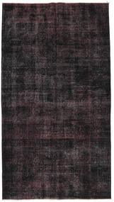 Colored Vintage Rug 140X250 Authentic  Modern Handknotted Dark Brown (Wool, Turkey)