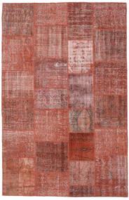 Patchwork Rug 195X303 Authentic  Modern Handknotted Dark Red/Brown (Wool, Turkey)