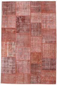 Patchwork Rug 198X298 Authentic  Modern Handknotted Brown/Dark Red (Wool, Turkey)