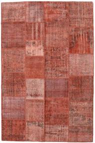 Patchwork Rug 198X300 Authentic  Modern Handknotted Dark Red/Light Brown (Wool, Turkey)