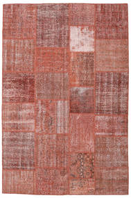 Patchwork Rug 198X301 Authentic  Modern Handknotted Brown/Dark Red (Wool, Turkey)