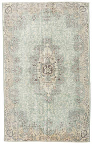 Colored Vintage Rug 178X286 Authentic  Modern Handknotted Light Grey/Pastel Green (Wool, Turkey)