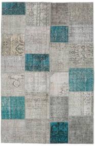 Patchwork Rug 197X301 Authentic  Modern Handknotted Light Grey/Dark Grey (Wool, Turkey)