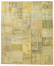 Patchwork Rug 250X301 Authentic  Modern Handknotted Light Green/Dark Beige Large (Wool, Turkey)