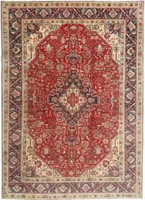 Tabriz Rug 200X282 Authentic  Oriental Handknotted Dark Brown/Dark Red (Wool, Persia/Iran)