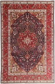 Tabriz Rug 207X315 Authentic  Oriental Handknotted Dark Red/Dark Brown (Wool, Persia/Iran)