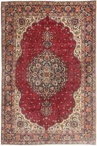 Tabriz Rug 197X305 Authentic  Oriental Handknotted Dark Red/Brown (Wool, Persia/Iran)