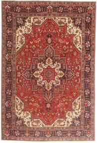Tabriz Rug 197X290 Authentic  Oriental Handknotted Dark Red/Dark Brown (Wool, Persia/Iran)