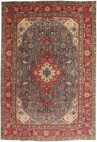 Tabriz Rug 200X295 Authentic  Oriental Handknotted Dark Red/Brown/Dark Brown (Wool, Persia/Iran)
