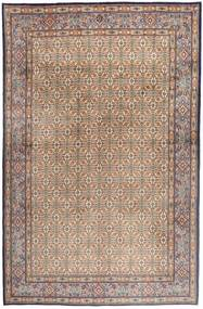 Moud Rug 181X279 Authentic  Oriental Handknotted Light Grey/Light Brown/Brown (Wool/Silk, Persia/Iran)