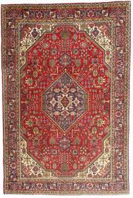 Tabriz Rug 198X300 Authentic  Oriental Handknotted Dark Brown/Brown (Wool, Persia/Iran)