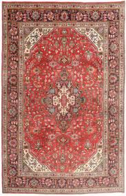 Tabriz Rug 195X300 Authentic  Oriental Handknotted Rust Red/Dark Red (Wool, Persia/Iran)