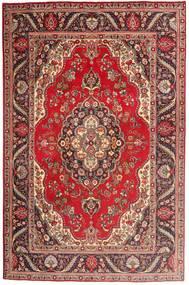 Tabriz Rug 197X300 Authentic  Oriental Handknotted Dark Red/Brown (Wool, Persia/Iran)