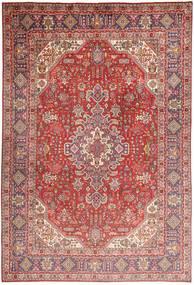 Tabriz Rug 200X298 Authentic  Oriental Handknotted Dark Red/Light Pink (Wool, Persia/Iran)