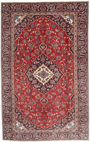 Keshan Rug 185X290 Authentic  Oriental Handknotted Dark Red/Dark Brown (Wool, Persia/Iran)