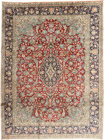 Kerman Rug 237X318 Authentic  Oriental Handknotted Light Grey/Dark Brown (Wool, Persia/Iran)