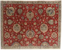 Tabriz Patina Rug 183X230 Authentic Oriental Handknotted Dark Red/Light Brown (Wool, Persia/Iran)
