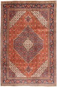 Tabriz Rug 202X305 Authentic  Oriental Handknotted Dark Red/Dark Brown (Wool, Persia/Iran)