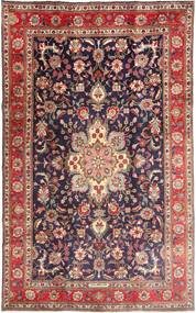 Tabriz Rug 190X315 Authentic  Oriental Handknotted Dark Red/Dark Purple (Wool, Persia/Iran)