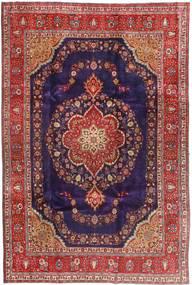 Tabriz Rug 240X358 Authentic  Oriental Handknotted Dark Red/Dark Purple (Wool, Persia/Iran)
