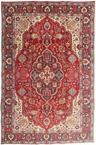 Tabriz Rug 194X300 Authentic  Oriental Handknotted Dark Red/Rust Red (Wool, Persia/Iran)