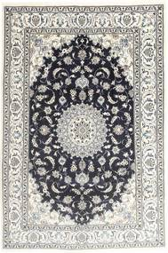 Nain Rug 194X287 Authentic  Oriental Handknotted Light Grey/Dark Grey (Wool, Persia/Iran)