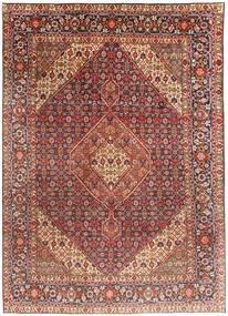 Tabriz Rug 203X291 Authentic  Oriental Handknotted Dark Red/Light Brown (Wool, Persia/Iran)