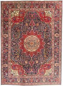 Tabriz Rug 212X292 Authentic  Oriental Handknotted Dark Red/Dark Brown (Wool, Persia/Iran)