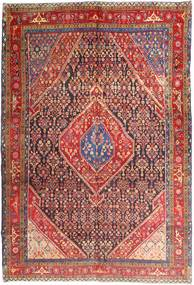 Ardebil Rug 210X300 Authentic  Oriental Handknotted Dark Red (Wool, Persia/Iran)
