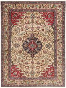 Tabriz Patina Rug 225X332 Authentic  Oriental Handknotted Light Brown/Dark Brown (Wool, Persia/Iran)
