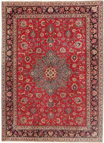 Tabriz Patina Rug 243X335 Authentic  Oriental Handknotted Dark Red/Crimson Red (Wool, Persia/Iran)