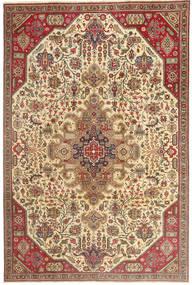 Tabriz Patina Rug 190X280 Authentic  Oriental Handknotted Light Brown/Dark Beige (Wool, Persia/Iran)