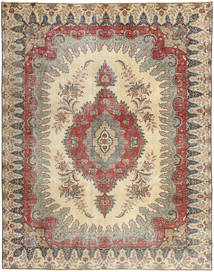 Tabriz Patina Rug 272X352 Authentic  Oriental Handknotted Light Grey/Brown/Beige Large (Wool, Persia/Iran)