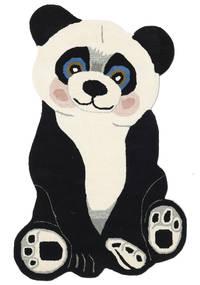 Panda Baby Rug 100X160 Modern Dark Grey/Beige (Wool, India)