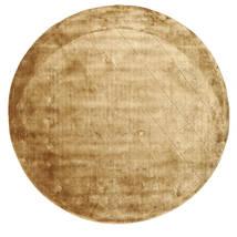 Brooklyn - Gold Rug Ø 300 Modern Round Light Brown/Dark Beige Large ( India)