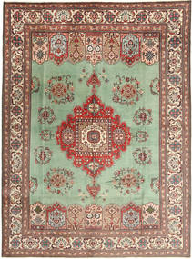 Tabriz Rug 298X410 Authentic  Oriental Handknotted Light Green/Light Brown Large (Wool, Persia/Iran)