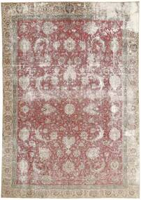 Colored Vintage Rug 228X340 Authentic  Modern Handknotted Light Grey/White/Creme (Wool, Persia/Iran)