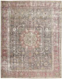 Colored Vintage Rug 297X375 Authentic  Modern Handknotted Light Grey Large (Wool, Persia/Iran)