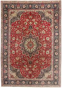 Tabriz Patina Rug 200X290 Authentic  Oriental Handknotted Dark Red/Dark Brown (Wool, Persia/Iran)