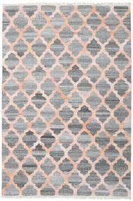 Outdoor Rug Kathi - Grey/Coral Rug 200X300 Authentic  Modern Handwoven Light Grey/Dark Grey/Light Pink ( India)