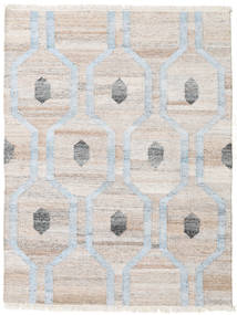 Outdoor Rug Cosmou - Light Blue Rug 140X200 Authentic  Modern Handwoven Light Grey/Beige ( India)