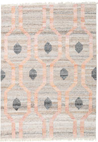 Outdoor Rug Cosmou - Coral Rug 140X200 Authentic  Modern Handwoven Light Grey/Light Pink ( India)