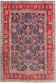 Tabriz Rug 194X290 Authentic  Oriental Handknotted Dark Red/Beige (Wool, Persia/Iran)