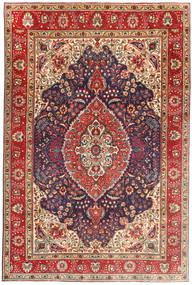 Tabriz Rug 199X305 Authentic  Oriental Handknotted Dark Red/Light Brown (Wool, Persia/Iran)