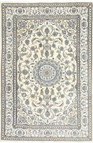 Nain Rug 195X300 Authentic  Oriental Handknotted Beige/Light Grey/Dark Grey (Wool, Persia/Iran)