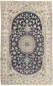 Nain Rug 185X310 Authentic  Oriental Handknotted Light Grey/Dark Grey (Wool, Persia/Iran)