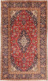 Keshan Rug 185X320 Authentic  Oriental Handknotted Dark Red/Rust Red (Wool, Persia/Iran)
