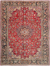 Najafabad Rug 296X390 Authentic  Oriental Handknotted Dark Red/Rust Red Large (Wool, Persia/Iran)