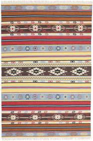 Kilim - Navaja - Navaja Rug 200X300 Authentic  Modern Handwoven Beige/Dark Brown (Wool, India)